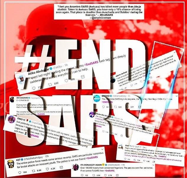 EndSARS Hashtag 00