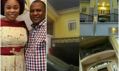 Tope Alabi New Mansion