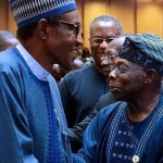"Days After His "" Explosive Letter Bomb "" Obasanjo Meets Buhari In Addis Ababa"