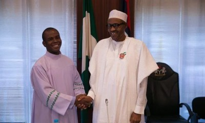 Father Ejike Mbaka and President Buhari