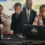 You Can Just Call Her The Executive DJ! As DJ Cuppy Teaches France & Senegal President How To DJ In Dakar
