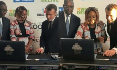 DJ Cuppy Teach France and Senegal President How To DJ