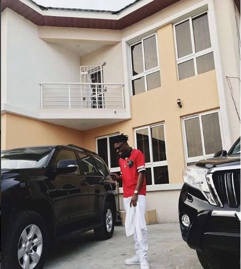 Mayorkun New House