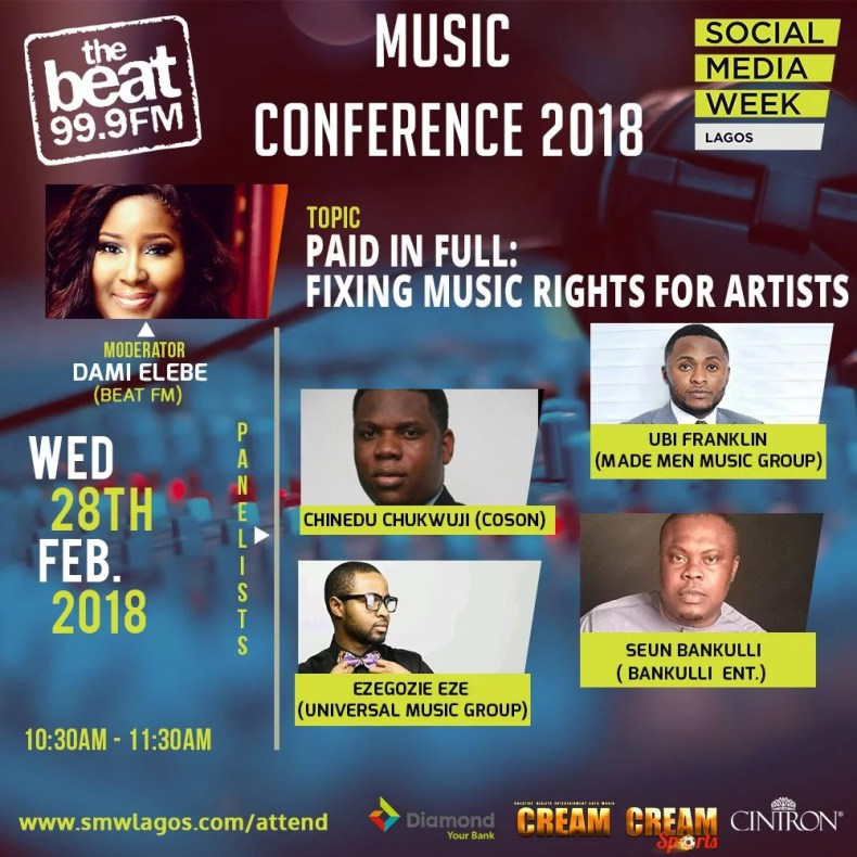 Music Day Conference at Social Media Week Lagos 00