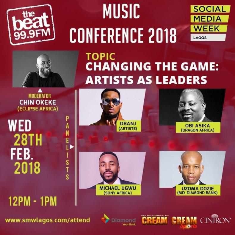 Music Day Conference at Social Media Week Lagos 01