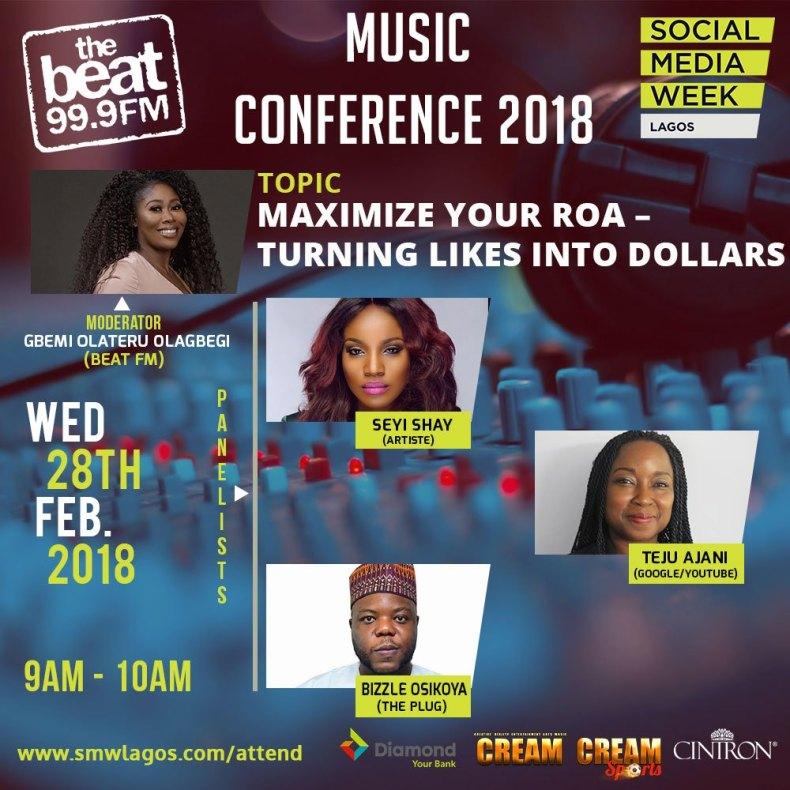 Music Day Conference at Social Media Week Lagos 02