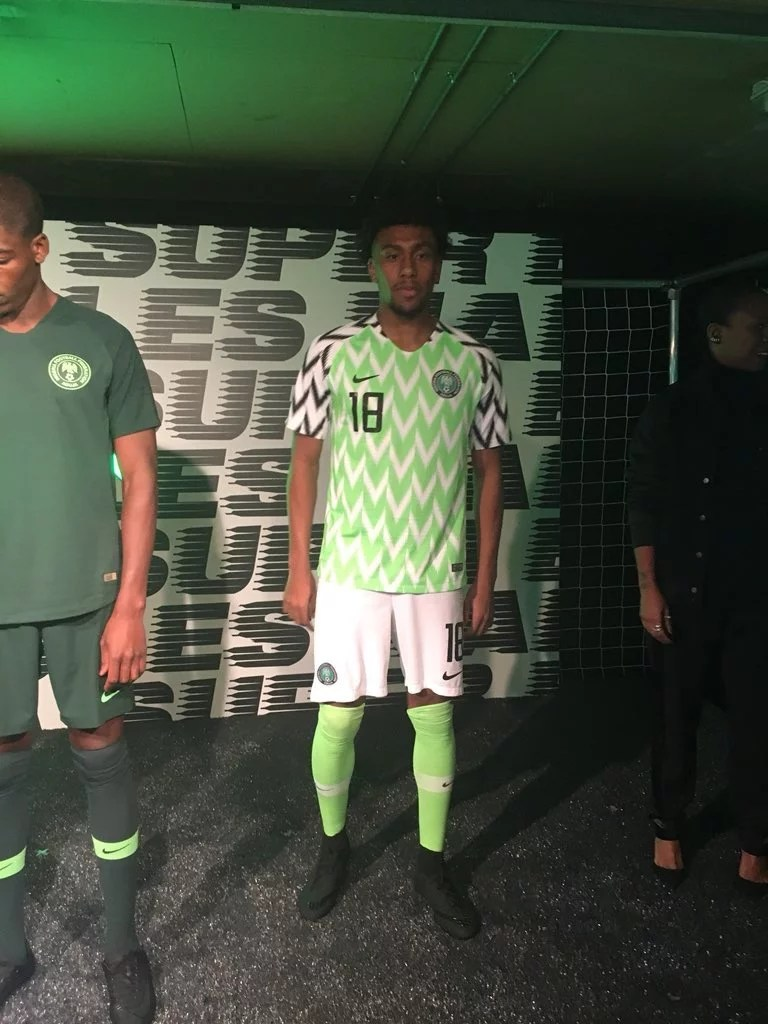 Super Eagles New Jersey 00