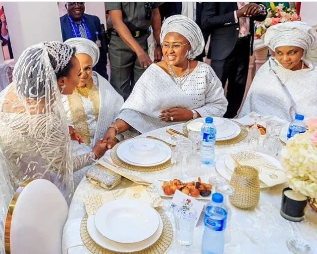 Gov Ajimobi Son Weds Gov Ganduje Daughter in Ibadan 05 (1)