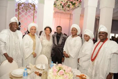Gov Ajimobi Son Weds Gov Ganduje Daughter in Ibadan 27