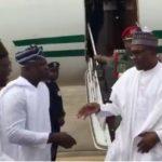 Photo News: President Buhari Arrives Lagos For A 2-Days Visits