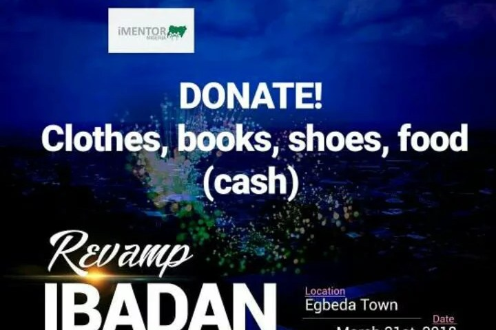 The Stellar Initiative Takes Help to Egbeda Town Ibadan