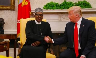 Donald Trump and President Buhari 01