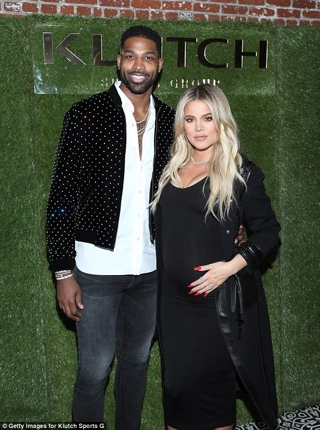 Khloe Kardashian and boyfriend Tristan Thompson