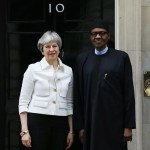 """"""" I Don't Focus On Next Election Like Other Politicians, But Am Only Bothered About Security And The Economy """" – President Buhari Tells UK Prime Minister, Theresa May"""