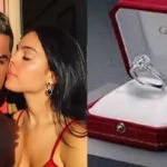 Real Madrid Superstar Cristiano Ronaldo Engages Girlfriend, Georgina Rodriguez With N300m Diamond Ring