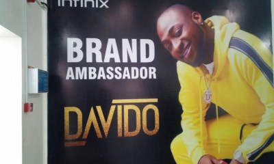 Davido Confirms as Infinix Mobile Brand Ambassador 01