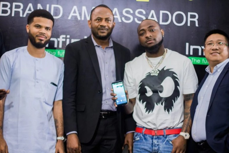 Davido Signs Infinix Mobile Nigeria Deal