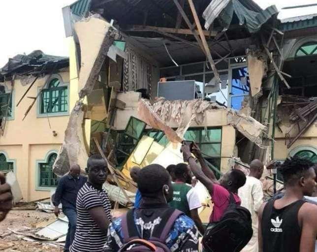 Oyo State Government Demolised Yinka Ayefele Music House Building 00