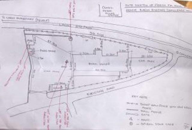 Yinka Ayefele Building Plan