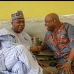#OsunDecides : Bukola Saraki Meets PDP's Candidate Ademola Adeleke & SDP's Candidate Iyiola Omisore in Osun