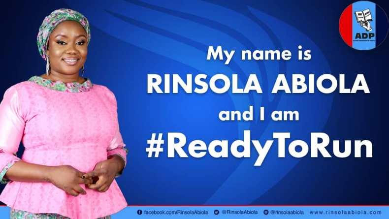 Rinsola Abiola to Federal House In Ogun