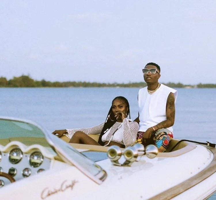 Tiwa Savage and Wizkid In Fever Video