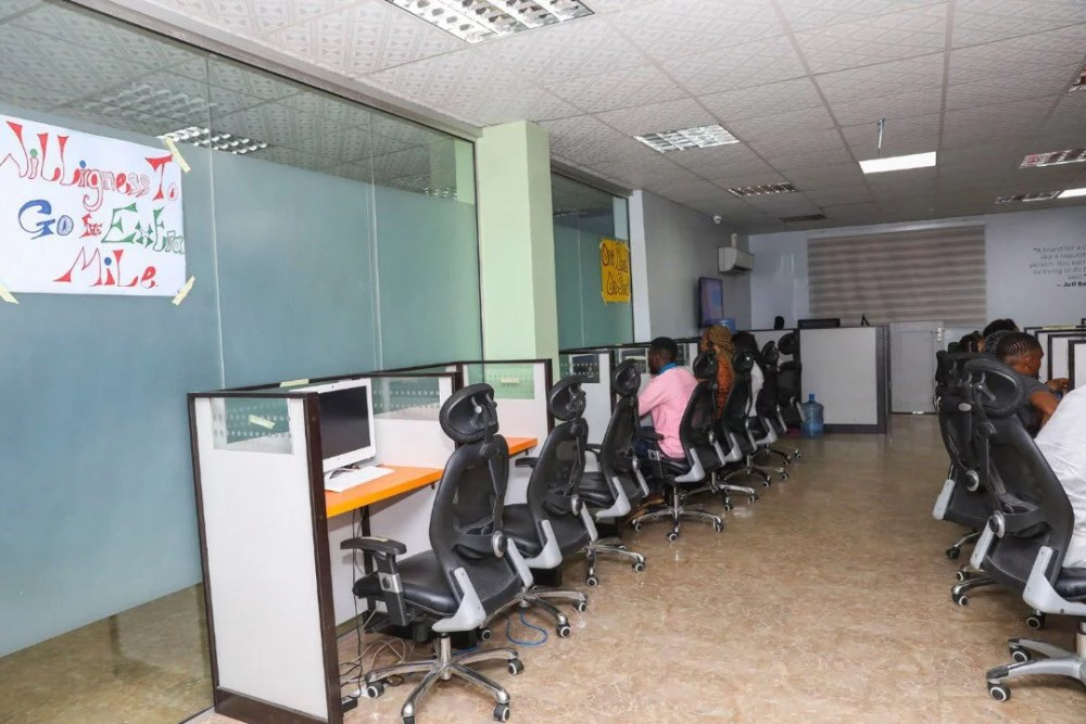 Inside View Of Akin Alabi & Nairabet Multi-Million Naira Mansion Office 09