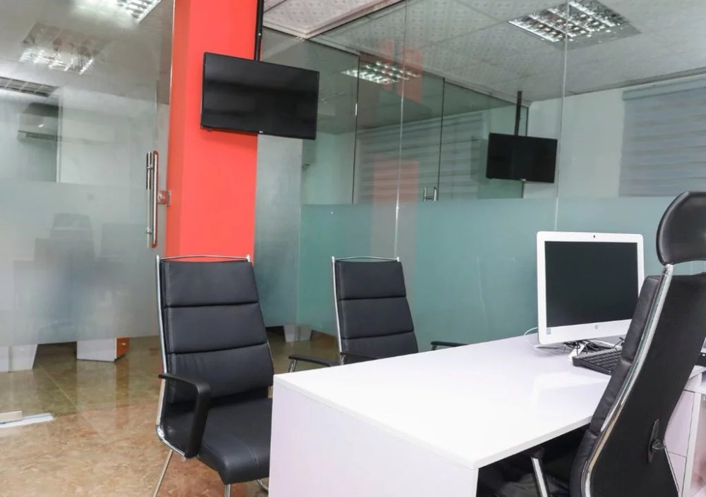 Inside View Of Akin Alabi & Nairabet Multi-Million Naira Mansion Office 13
