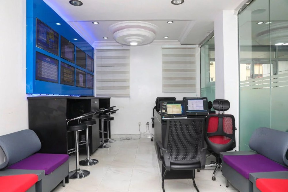 Inside View Of Akin Alabi & Nairabet Multi-Million Naira Mansion Office 16
