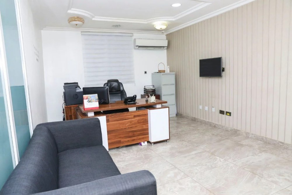 Inside View Of Akin Alabi & Nairabet Multi-Million Naira Mansion Office 20