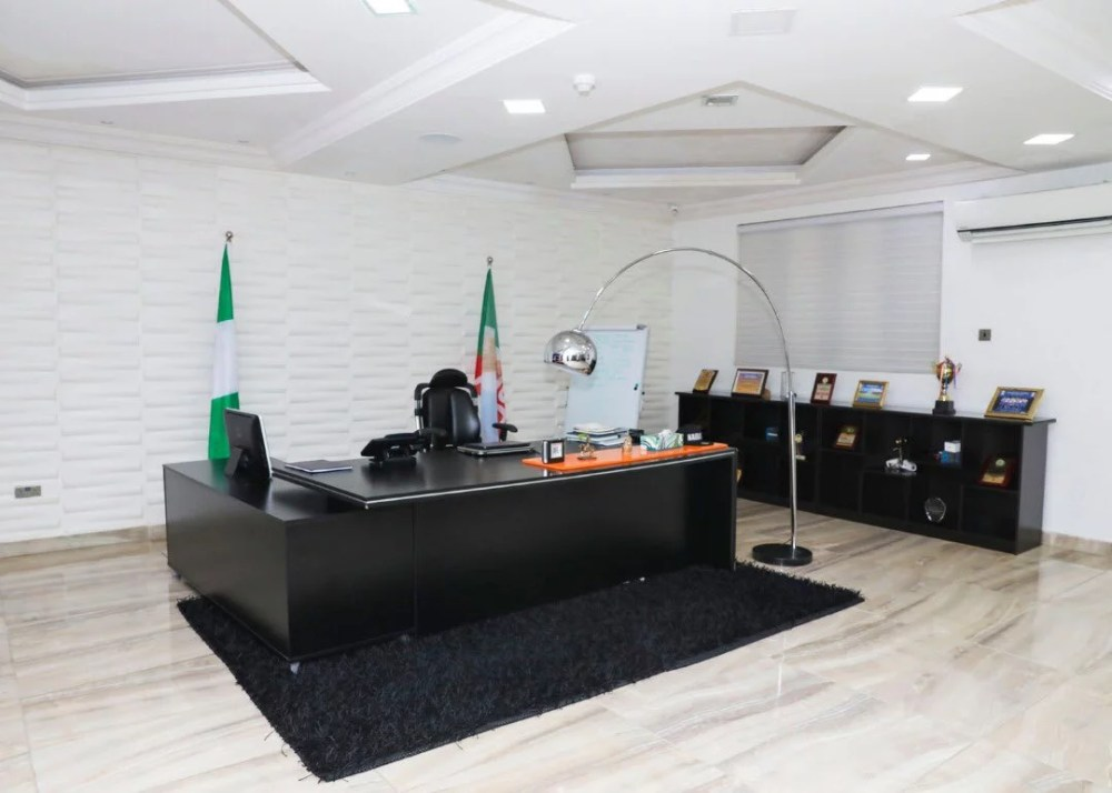 Inside View Of Akin Alabi & Nairabet Multi-Million Naira Mansion Office 21