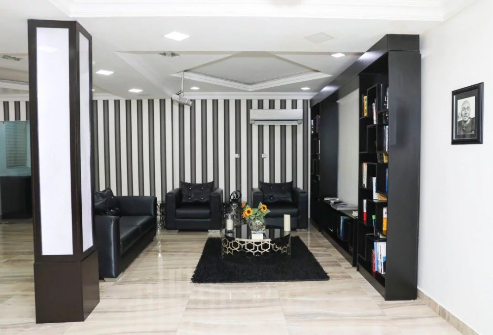 Inside View Of Akin Alabi & Nairabet Multi-Million Naira Mansion Office 22