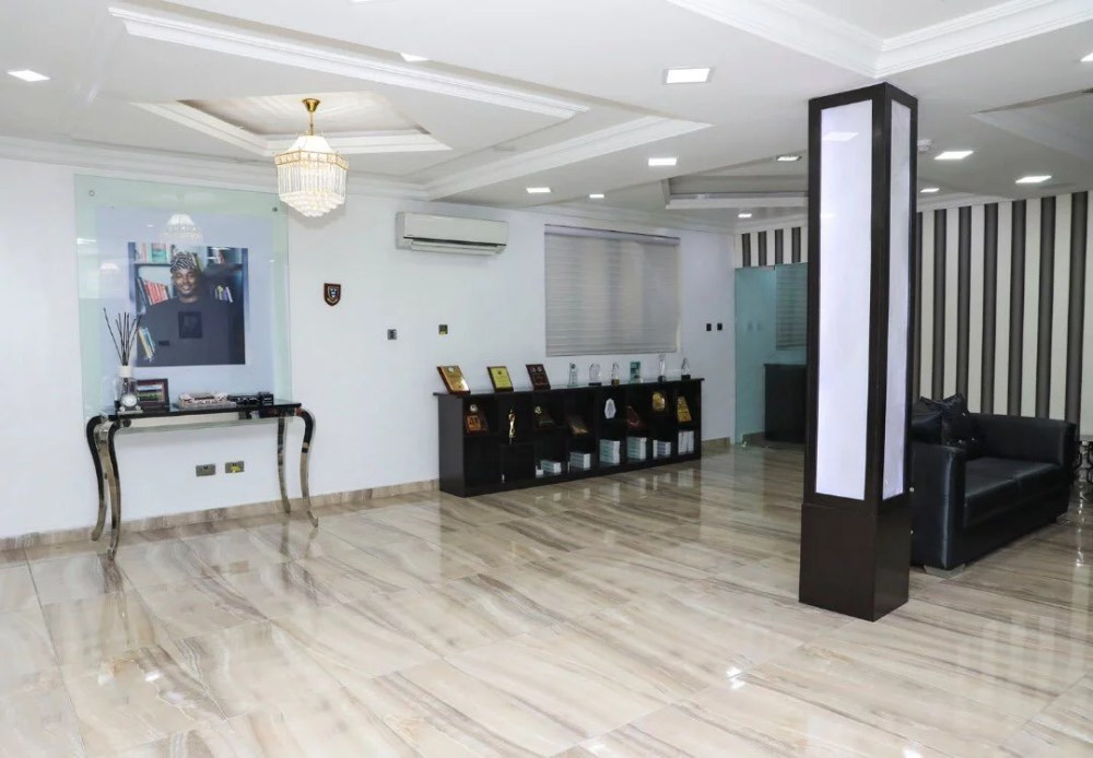 Inside View Of Akin Alabi & Nairabet Multi-Million Naira Mansion Office 23