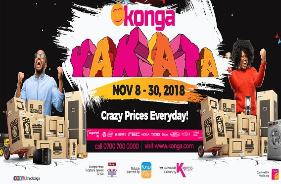 Konga Black Friday