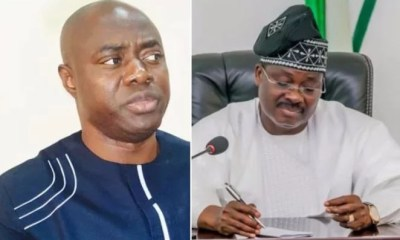 Seyi Makinde and Abiola Ajimobi