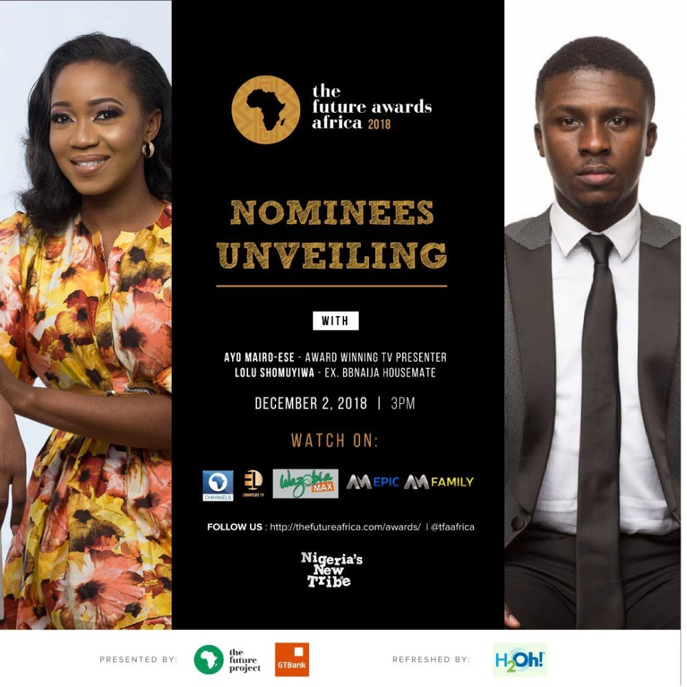 The Future Awards Africa 2018 Nominees
