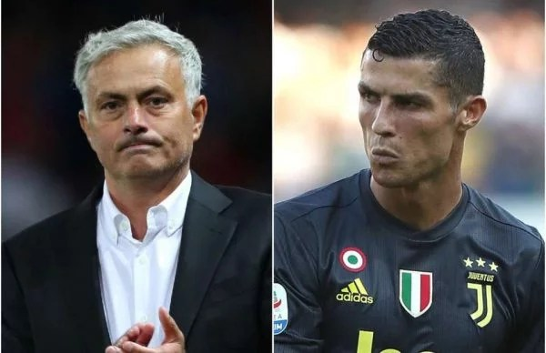Jose Mourinho and Cristiano Ronaldo