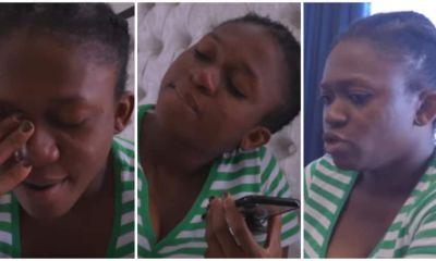 Waje Breakdowns In Emotional Heartbreaking Video