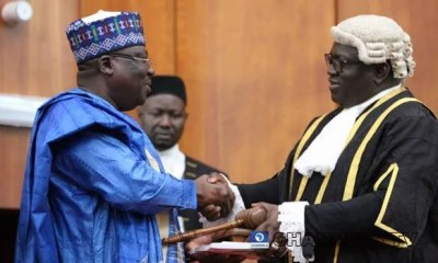 Senator Ahmed Lawan Elected As Senate President