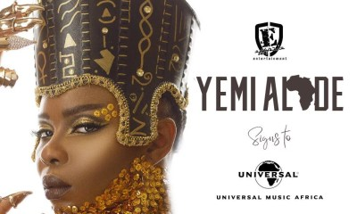 Yemi Alade Signs Global Licensing Deal With Universal Music