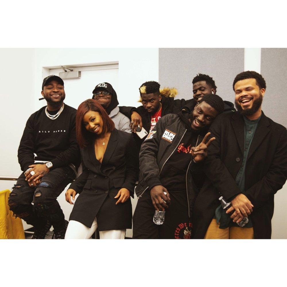 Davido and DMW Crew with Amarachi Nwosu