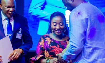 Precious Eniayekan Honored With Youth Leadership Awards by Ooni Of Ife 00
