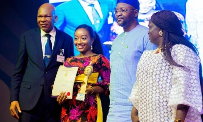 Precious Eniayekan Honored With Youth Leadership Awards by Ooni Of Ife 01