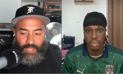 Fireboy DML Chats With Ebro Darden