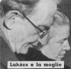 Lukács e la moglie