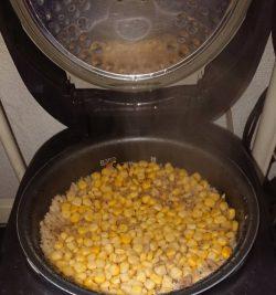 鶏白湯炊き込みご飯1