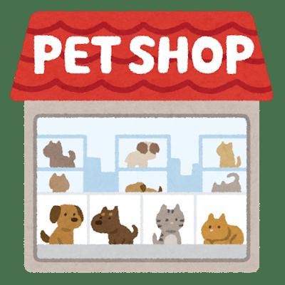 犬猫のペットショップ