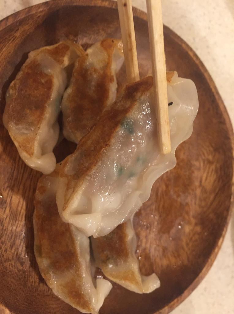 横綱餃子 石田部屋 羊肉餃子2