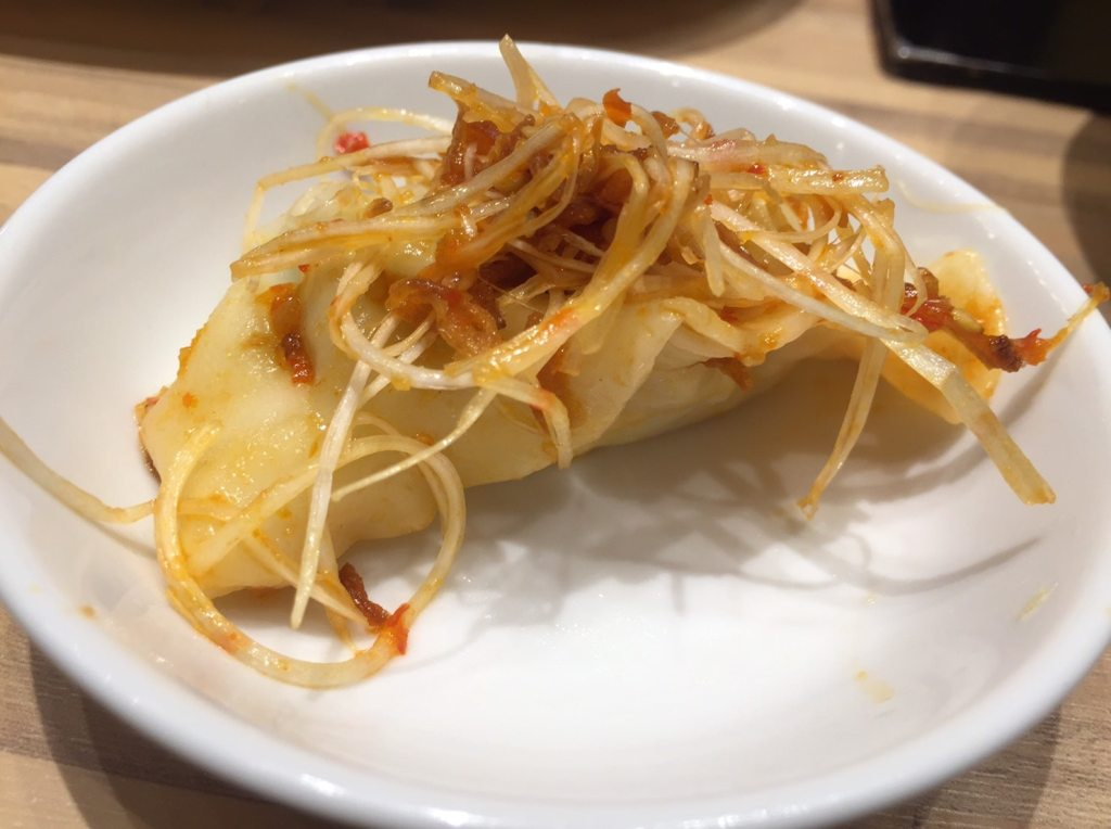 東京餃子楼 京橋店 花椒水餃子3