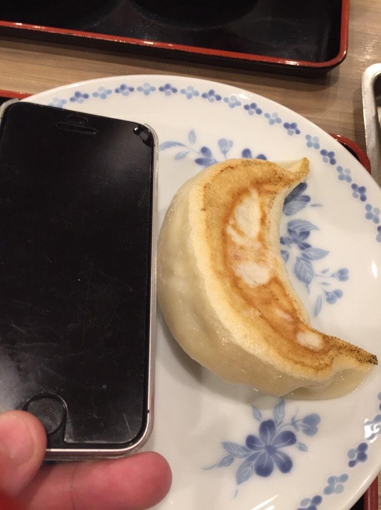池袋「開楽」 餃子定食3